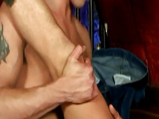 Tight ass cowboy boys gets their asses stretched in doggy style sex