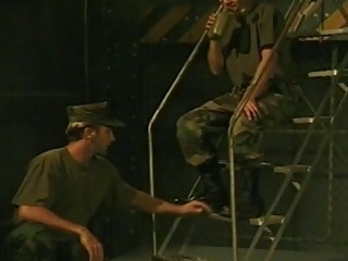 Hot military gay dudes fucking hard in this hardcore video