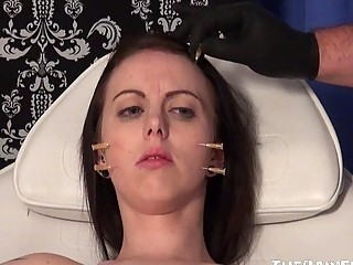 Nasty brunette bitch likes being a dirty little slave whore