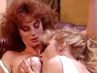 Busty Belle and Debi Diamond  Retro Girl On Girl