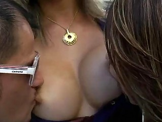 Sizzlin hot tgirls alternately fucked