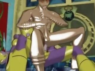 Hentai gays having threesome hot sex