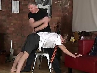 Gay porn Spanking The Schoolboy Jacob Daniels