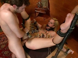 Isis Love James Deen and Tara Lynn Fox Threeway Bondage