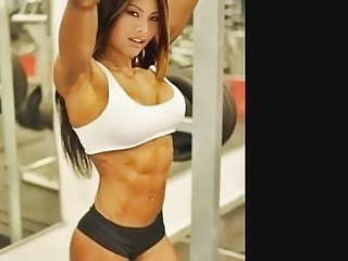 Naughty gym babes with big muscles can turn anyone on