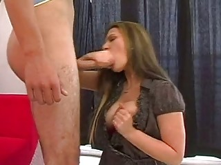 Sizzling milf Austin Kincaid is irking an angry cock to explode hot on her