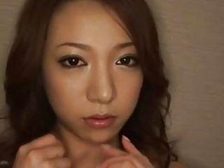 Japan MILF loses her mind milking a big cock with her mouth