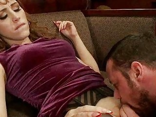 TS Dominates Man and Cums in his Mouth!