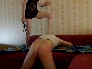 Russian Dominatrix is in TOTAL Control