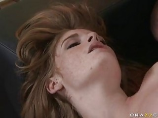 Sexy hot babe Faye Reagan gets fucked on her twat the way she always loved