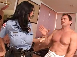 Work can wait  Hot cop Dylan Ryder gets a hot portion of morning glory
