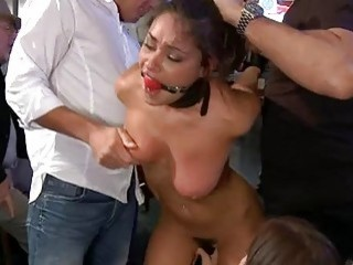 Defiant angel punished and screwed
