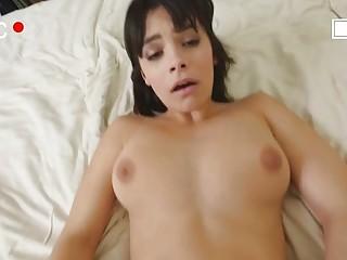 Hot ex-girlfriend brunette came back for massive pussy pounding POV