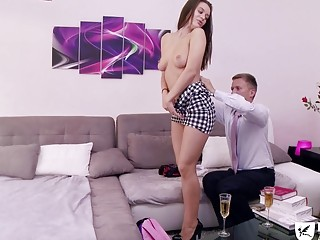 Paris fuck session with a chick and her male partner
