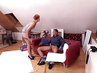 Kinky Czech slut sucks cock and fucks on hidden cams