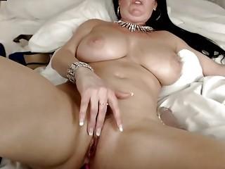 Big Boobs Milf Dildoing Herself Really Hard