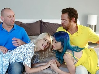 DaughterSwap  Sexy Teens Fuck Around With Dads