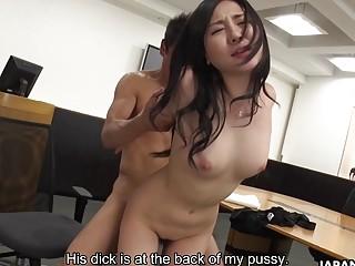 Japanese darling Miyuki Ojima licks balls uncens