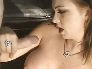 Blonde chick Teases while Stroking
